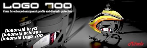 Kryt hlavního převodu pro LOGO 700