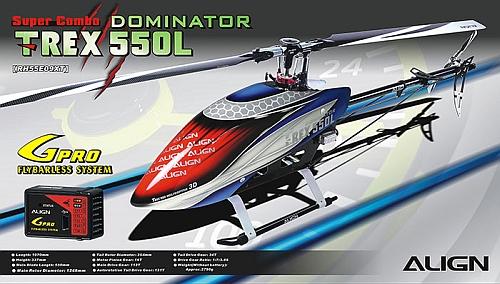 T-Rex 550 Dominator