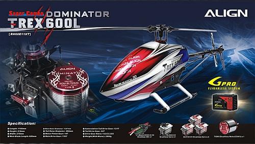 Nový T-REX 600L Dominator Super Combo