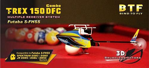 T-REX 150 DFC Combo RH15E01XW